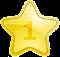 Золотая медаль за 1-е место (1)