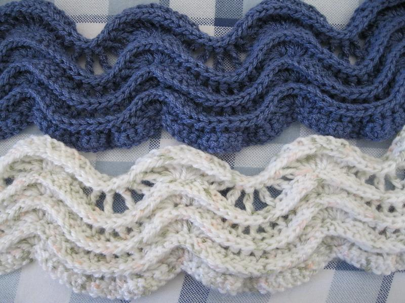 crochet so pretty wave scarf and shawl for ladies